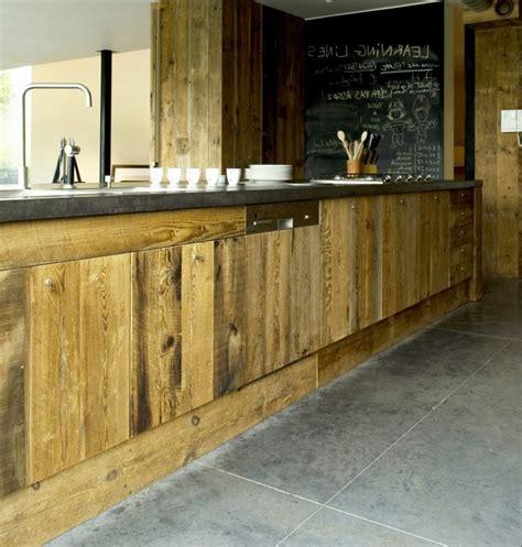 cuisine en bois brut fabulous meuble cuisine bois brut fresh petit facade