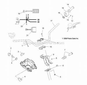 2006 Polaris 330 Trail Boss Diagram Of Engine Parts