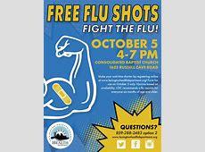 Free Flu Shots – LexingtonFayette County Health Department