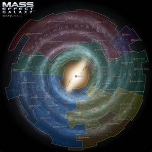 Mass Effect Galaxy Map 3.5 by DWebArt on DeviantArt
