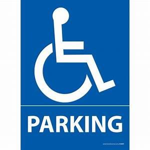 Panneau Stationnement Handicapé : panneau parking pictogramme pmr ~ Medecine-chirurgie-esthetiques.com Avis de Voitures