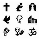 Icon Pray Icons Prayer Islam Religion Background
