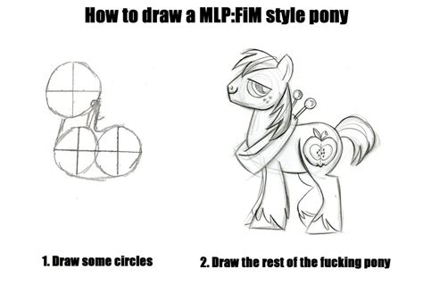 How To Draw An Owl Meme - how to draw a pony how to draw an owl know your meme