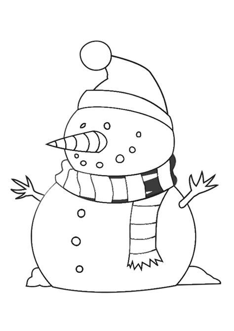 coloriage bonhomme de neige img  images