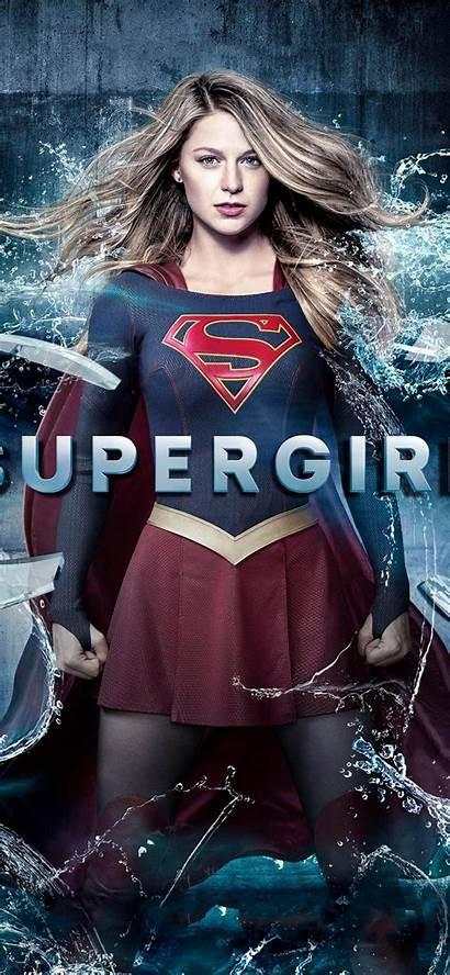 Supergirl Melissa Iphone Benoist Wallpapers Hdqwalls 4k