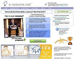 top resume services e resume net review