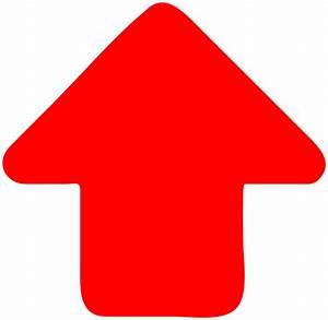 Red-arrow-up Clip Art at Clker.com - vector clip art ...