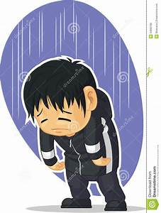 Cartoon of Sad Boy stock vector. Illustration of ...