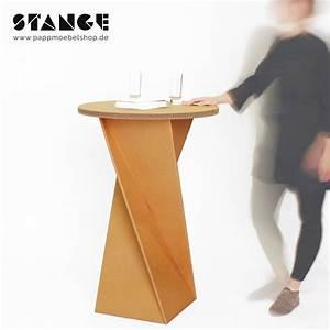 Tisch Aus Pappe : stehtisch twist aus pappe arbeiten work pinterest stehtischen pappe und bajonettverschluss ~ Sanjose-hotels-ca.com Haus und Dekorationen