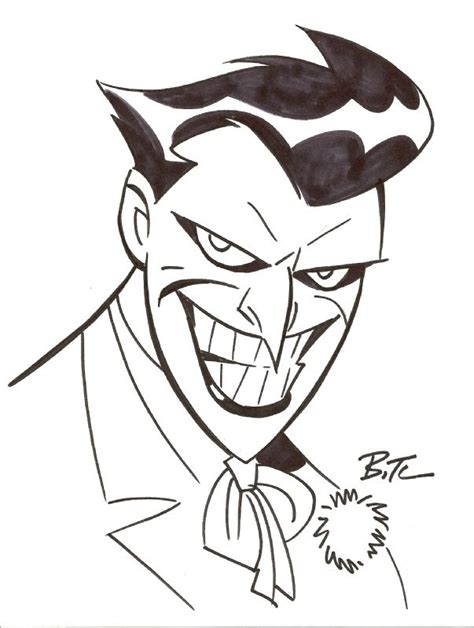 ideas  joker sketch  pinterest batman