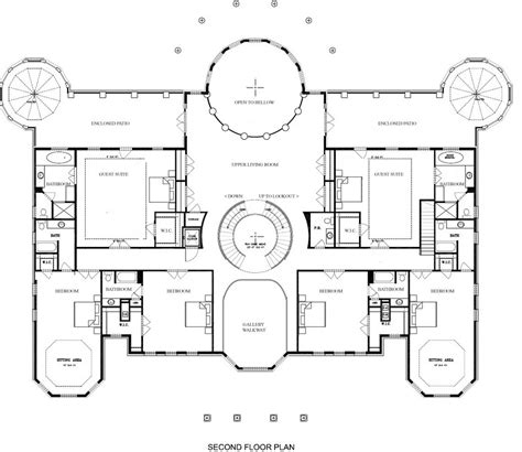 mansion floor plans a hotr reader s revised floor plans to a 17 000 square