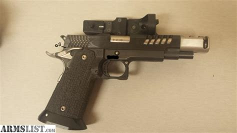 armslist for sale sti 2011 steel master gun open 9mm minor trubor