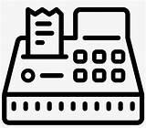 Cash Clipart Register Pngkey sketch template