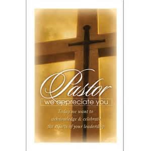 Pastor Anniversary Bulletins