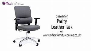 Parity Leather Faced Task Chair Features And User Guide