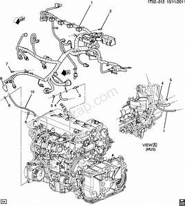 2008 Engine  Lnf  2 0x  Chevrolet