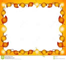 Halloween Pumpkin Borders Clip Art by Herbst Blatt Rand Oder Feld Stockfotos Bild 3068013