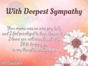 Sympathy Card Messages