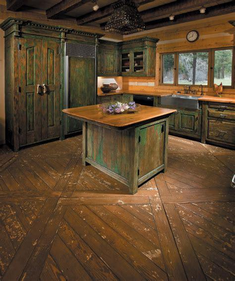 cabin kitchen island pecos wilderness cabin rustic kitchen islands and 1907