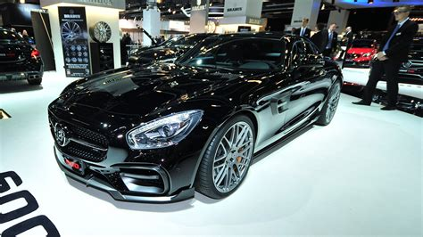 mercedes amg gt   brabus top speed