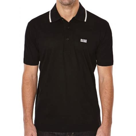 poloshirt hugo hugo polo shirt patry 2 black mens