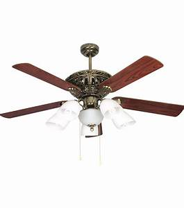 Cheap Electric Decorative Ceiling Fan With Lamp  View