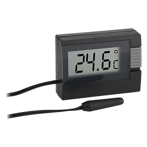 tfa dostmann thermometer schwarz digital bauhaus