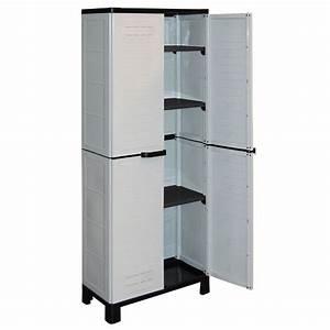 Meuble De Rangement En Plastique Pas Cher : meuble exterieur en plastique ~ Edinachiropracticcenter.com Idées de Décoration