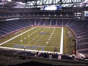 Ford Field Seating Chart Concert Ford Field Section 346 Detroit Lions Rateyourseats Com