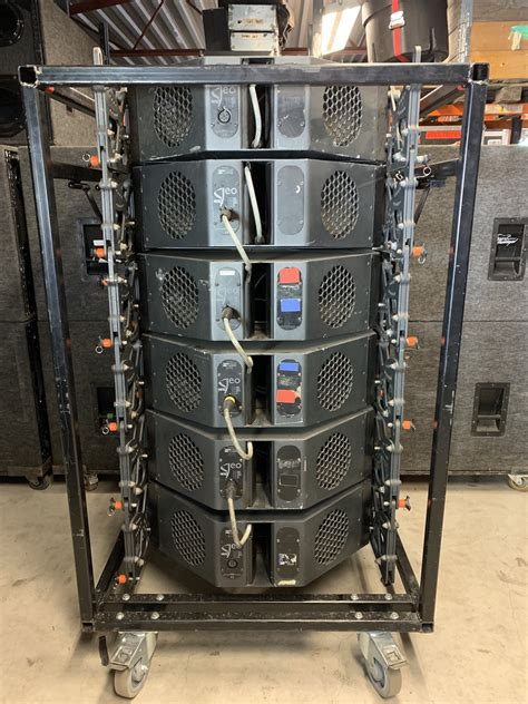 NEXO GEO T Line Array 78 Cabinet System - Gearwise - Used ...