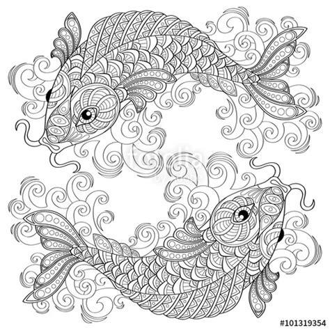 koi fish  drawing  getdrawingscom