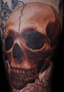 Perfect, cool, realistic skull tattoos - Skull tattoos