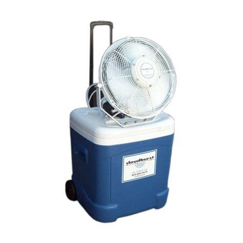 18 portable patio misting fans napoleon patio 60000 btu gas pit with 1