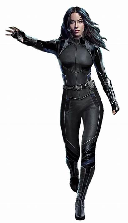 Quake Marvel Deviantart Agents Superhero Suits Daisy