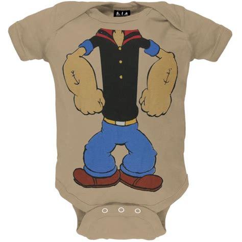 popeye costume infant bodysuit