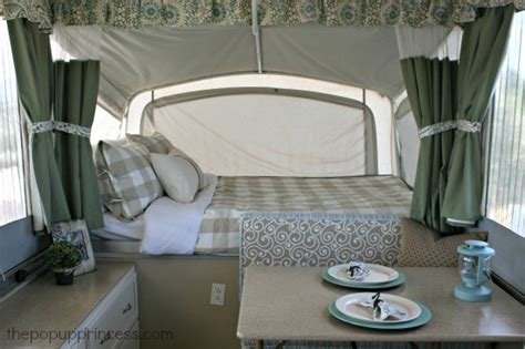 Jayco Curtains by Pop Up Camper Remodel The Big Reveal The Pop Up Princess