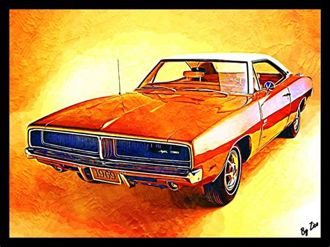 Car, Vintage, Old Car, Muscle Cars, Dodge Charger