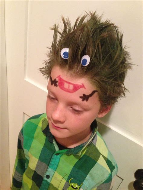 1000 Images About Crazy Hair For Boys On Pinterest