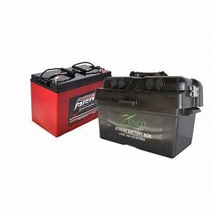 Batterie 12 Volts : zenot 12v 135ah deep cycle agm extreme battery box all ~ Farleysfitness.com Idées de Décoration