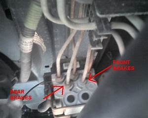 2000 Chevy Silverado 1500 Brake Lines Are Rotted Coming Into Abs Motor  How Do I Know Which Line