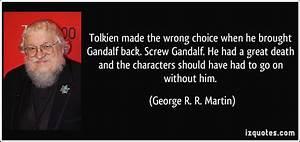 Gandalf Quotes.... Gandalf Wizard Quotes