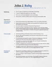 Functional Resume Templates Free