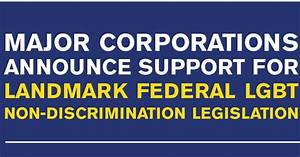 Major Corporations Announce Support for Landmark Federal ...