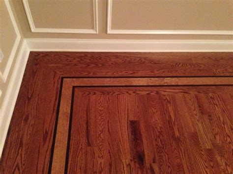 Hardwood Floor Borders Monmouth County NJ   Melo Floors