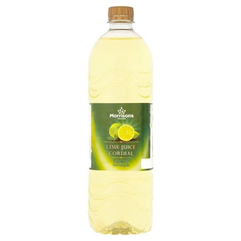 lime cordial morrisons morrisons lime cordial 1l product information