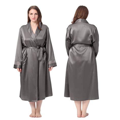 robe de chambre soie femme robe de chambre femme en soie 22 momme poignet dentelle
