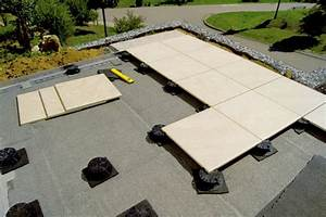 Terrassenplatten auf stelzlager terrassenplatten auf for Stelzlager terrasse