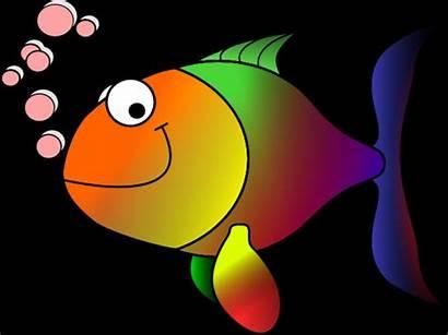 Fish Rainbow Clipart Clip Clker Vector Clipground