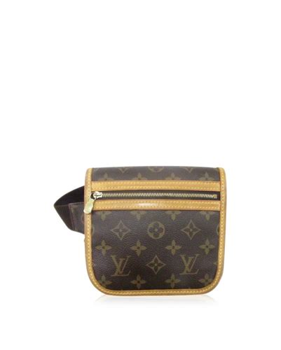 auth louis vuitton bum bag bosphore waist pouch monogram