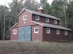 barn style homes custom barn  gambrel roof  wide